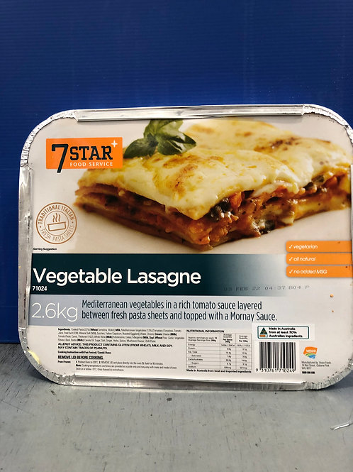 Lasagne Vegetable 2.6k