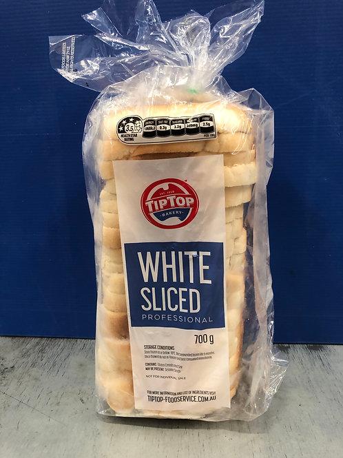 Bread White Sliced Tip Top 700g Frozen