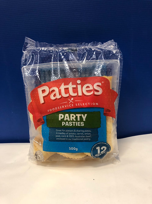 Pasties Party With Beef Patties 12s