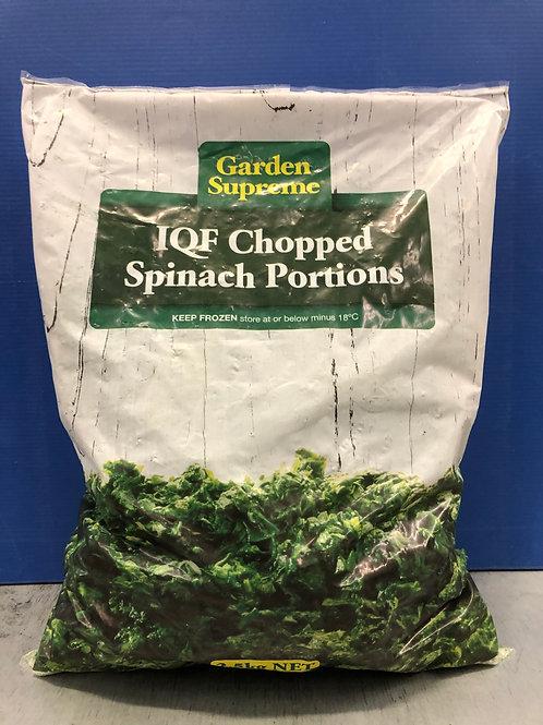 Spinach 2.5kg {Frozen}