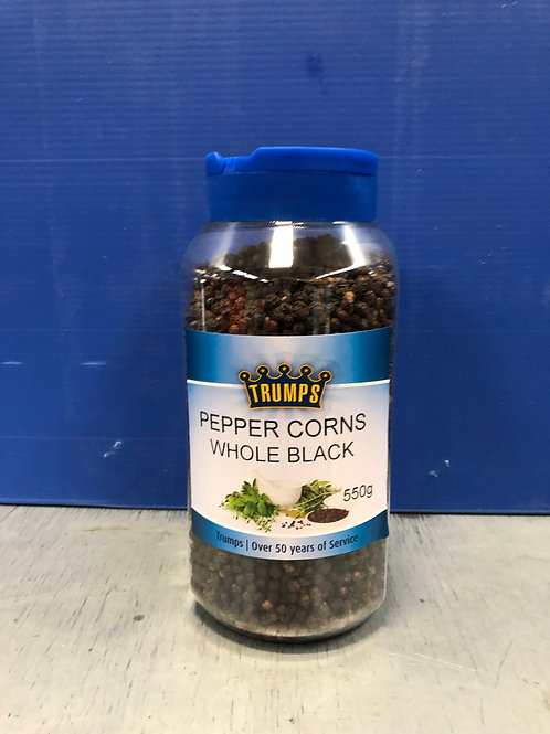 Pepper Whole Black 550g Cylinder
