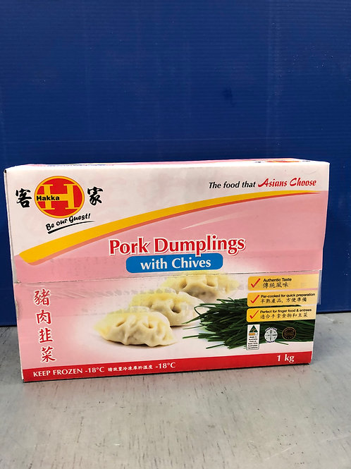 Dumplings Port/Chive 50x20g