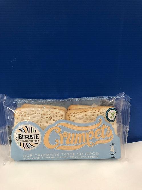 Crumpets Gluten Free / Vegan 4s {Frozen}