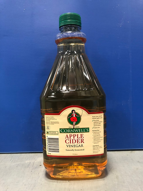 Vinegar Apple Cider 2lt