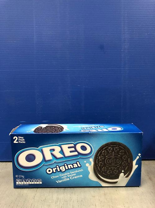 Oreo Original Biscuits 274g