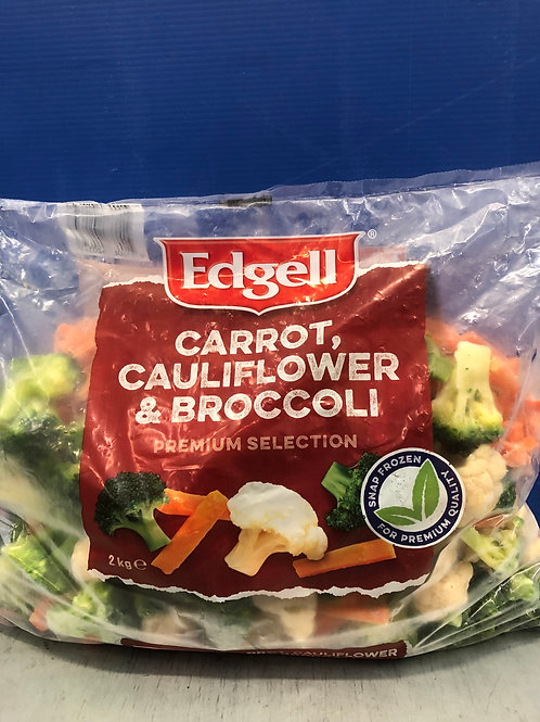 Carrot/Cauli/Broccoli 2kg {Frozen}