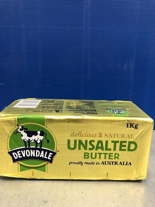 Butter Unsalted 1kg