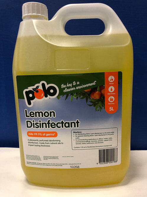 Disinfectant Lemon  5lt