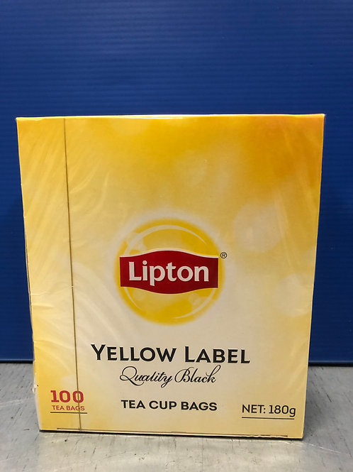 Teabags Liptons 100s
