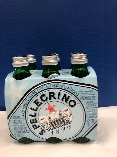 Mineral Water Sparkling San Pellegrino 24x250ml