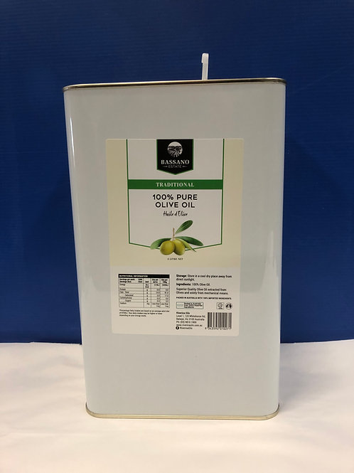 Oil Olive Pure Bassano Estate 4lt