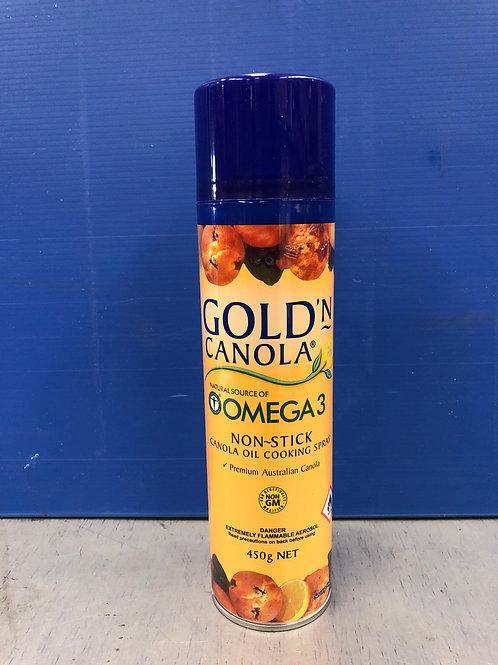 Oil Spray Goldn Canola 450g
