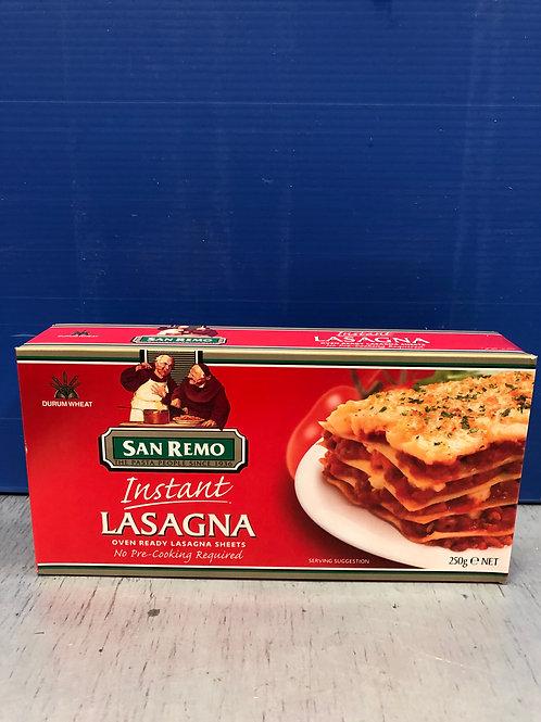 Pasta Instant Lasagne Reg 250g