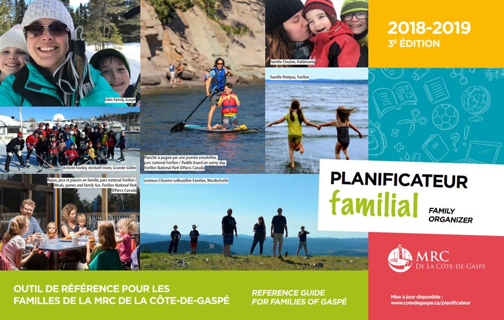 3e édition du Planificateur familial de La Côte-de-Gaspé