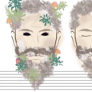 Wise Man Makeup Face Chart