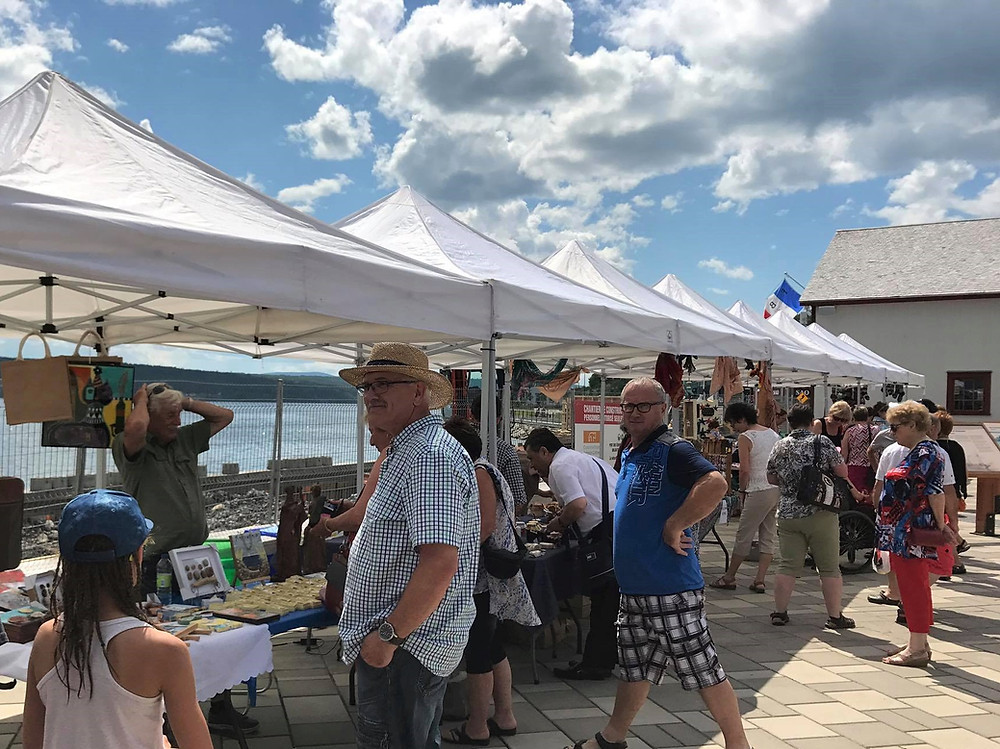 Marché public de Gaspé. Photo : Salon Gaspésien