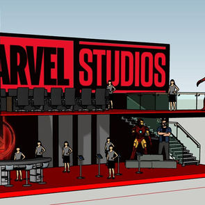 Trade Show Booth - Marvel Studios