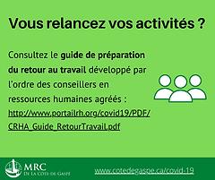 Relance de vos activités : guide pour vos ressources humaines