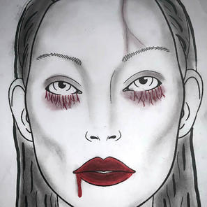 Monster Makeup Face Chart