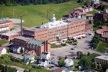 Cégep de Gaspé, crédit photo : ricochetdesign.qc.ca