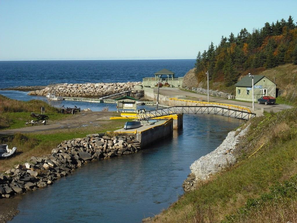 Havre de pêche de Petite-Vallée