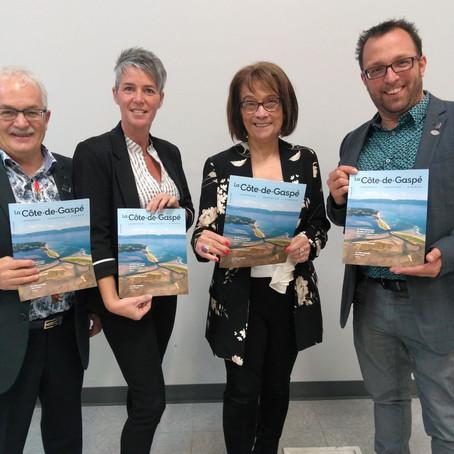 La MRC de La Côte-de-Gaspé lance son magazine