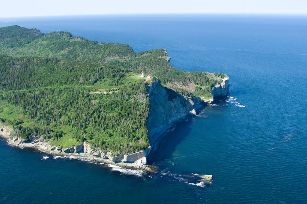 Cap Gaspé, Parc national Forillon