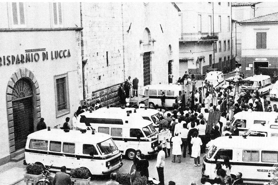 1981 Inaugurazione mezzi