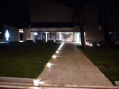 L'esterno della sede dopo la risistemazione esterna