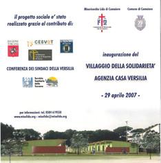 2007_inaugurazione_villaggio_solidarietÃ