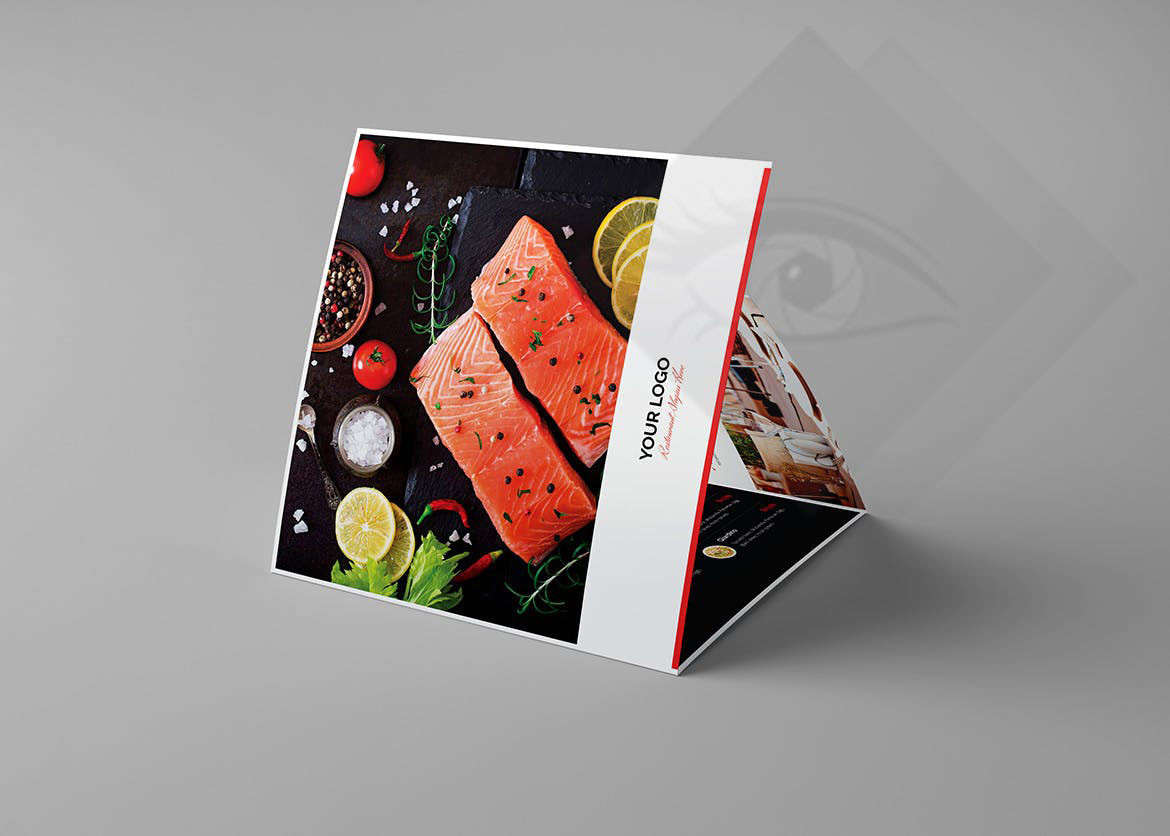 Restaurant Brochure - Sample (b) | Adamsgraphy | Photography and ...