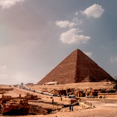 The great Pyramid of Gizah (Khufu)