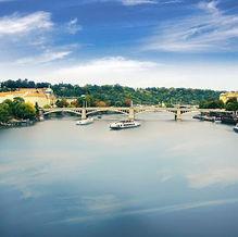 Prague River (The Vltava)