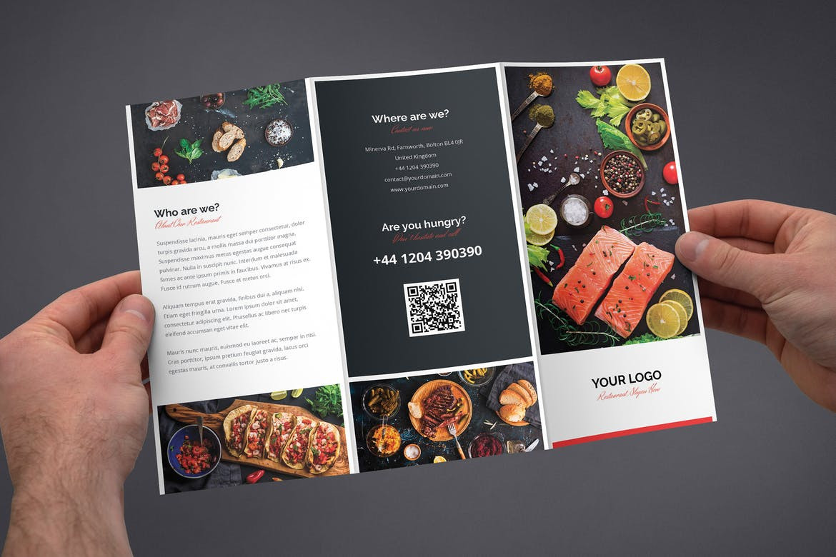 Restaurant Flyer Design - Sample (a) | Adamsgraphy | Photography and ...