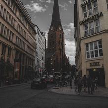 St. Peter's Church in Hamburg, Germany
