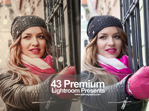 43 Premium Lightroom Presets