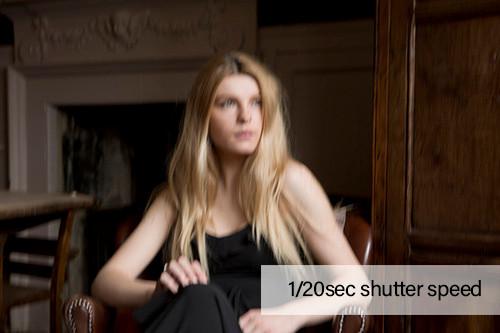1/20sec shutter speed