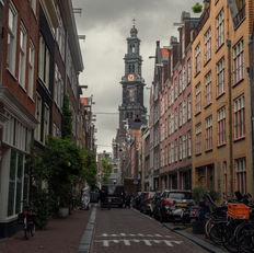 Clock tower of Amsterdam, Amsterdam - Wester Tower - Westerkerk