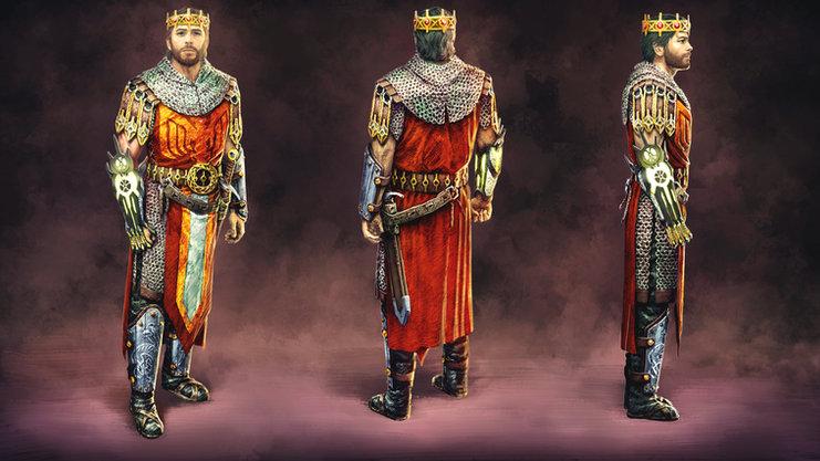 King Arthur (Medieval Sci-Fi Design)