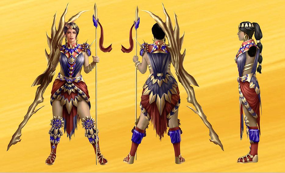 Nanaya character design