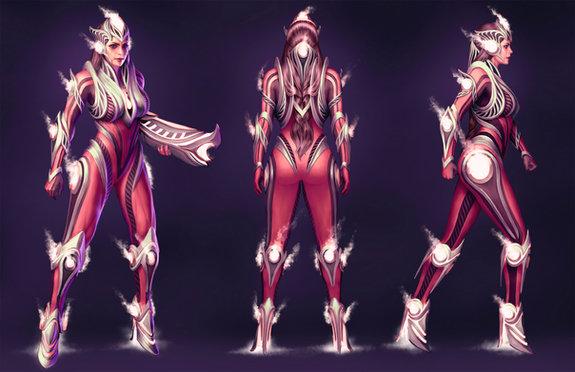 Shikari (Fantasy Soldier Design)