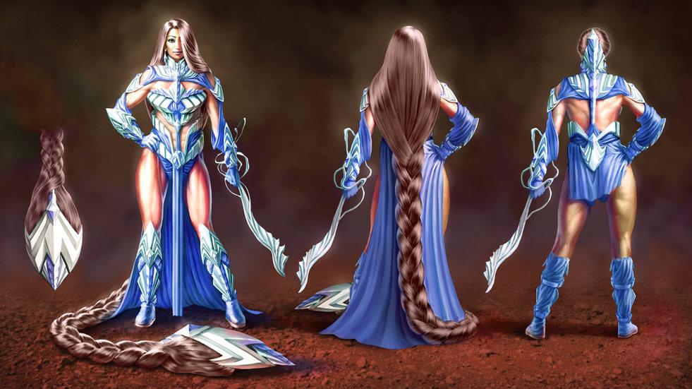 Dragonslayer (Fantasy Knight Design)