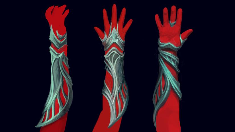 Shikari's arms (First pass)