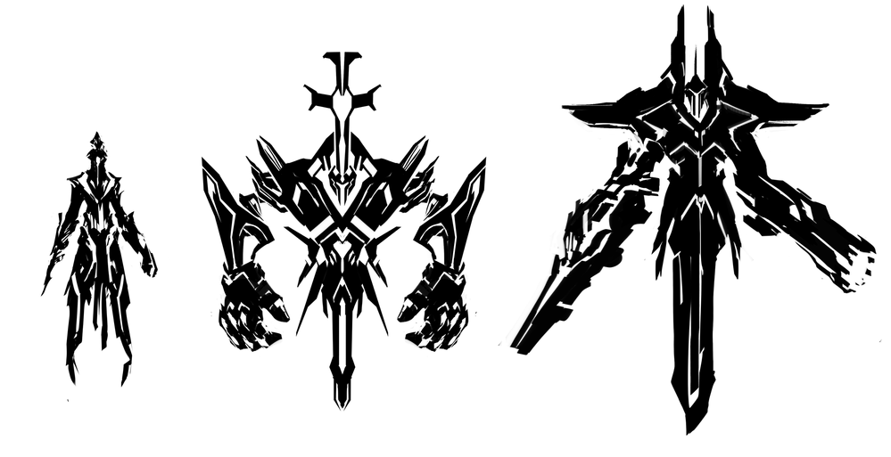 Enemy Design Silhouettes