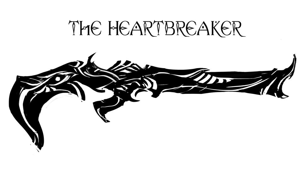 Heartbreaker- Shotgun Silhouette