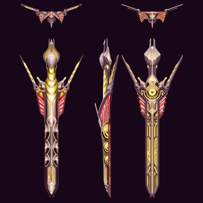 Excalibur Orthographic Design