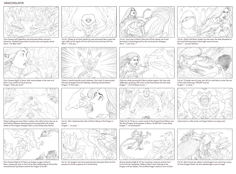 Dragonslayer (Storyboard)