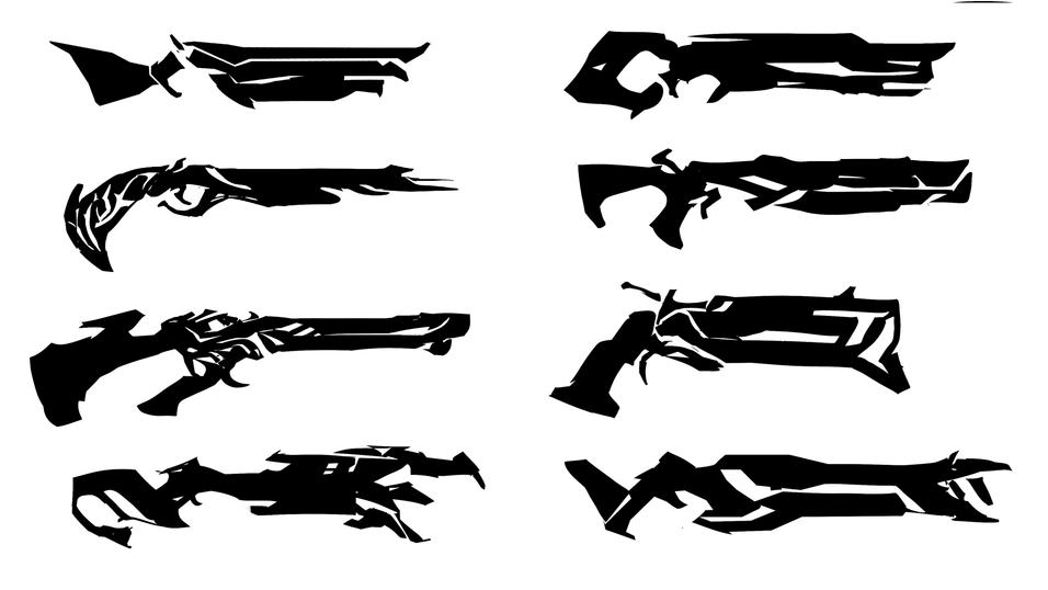 Shotgun Silhouette iterations