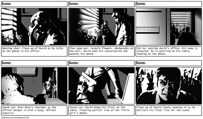 The Interrogation: Storyboard