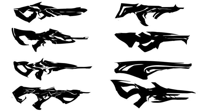 Mindshredder- Rifle Silhouettes